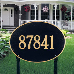 WH2928 Oval Plaques