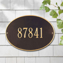 WH2922 Oval Plaques