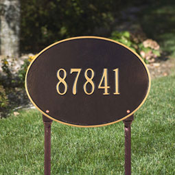 WH2924 Oval Plaques