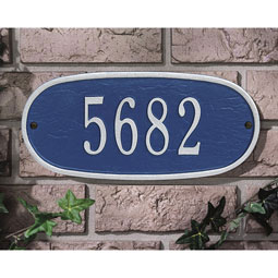 WH4004 Address Plaques