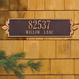 WH2992 Vertical Plaques