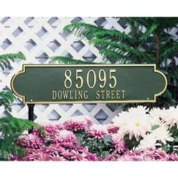 WH2991 Vertical Plaques