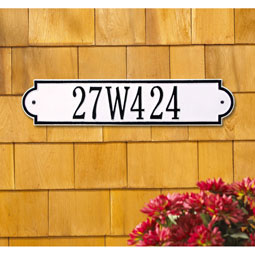 WH3008 Address Plaques