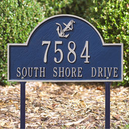 WH1098 Address Plaques