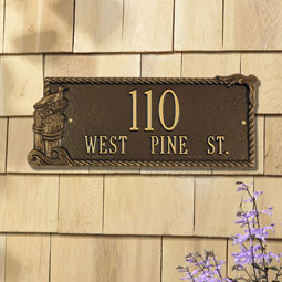 WH1541 Address Plaques