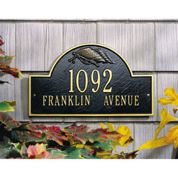WH1093 Address Plaques