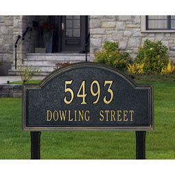 WH1311 Address Plaques