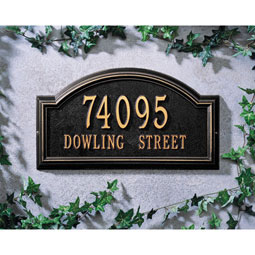 WH1305 Address Plaques
