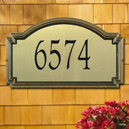 WH5611 Artisan Metal & Stone Plaques