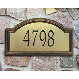 WH5606 Address Plaques