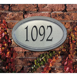 WH5608 Artisan Metal & Stone Plaques