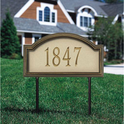 WH5624 Artisan Metal & Stone Plaques