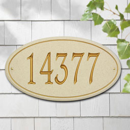 WH5603 Carved Stone Plaques