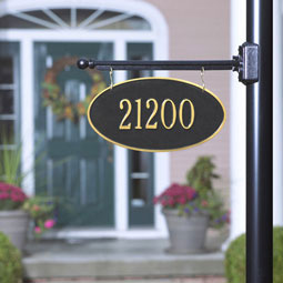 WH2509 Hanging Plaques & Address Signs
