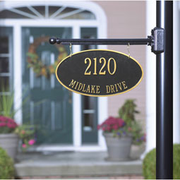 WH2510 Hanging Plaques & Address Signs