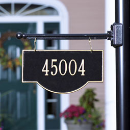 WH1806 Hanging Plaques & Address Signs