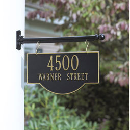 WH1807 Hanging Plaques & Address Signs