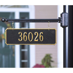 WH2313 Hanging Plaques & Address Signs