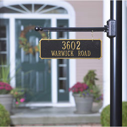 WH2314 Hanging Plaques & Address Signs