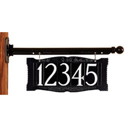 WH9000 Hanging Plaques & Address Signs