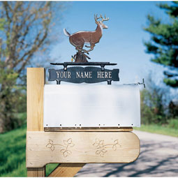 WH7001 Mailbox Signs & Ornaments