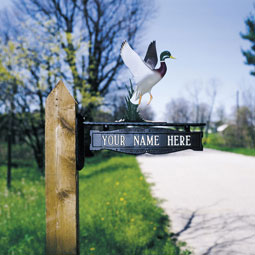 WH7011 Mailbox Signs & Ornaments