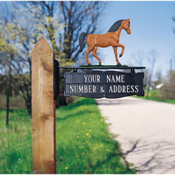 WH7022 Mailbox Signs & Ornaments