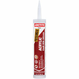 Loctite Polyseamseal Acrylic Caulk With Silicone - Clear, 10 fl. oz.