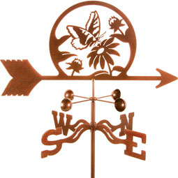 VSBFLY Birds and Butterfly Weathervanes