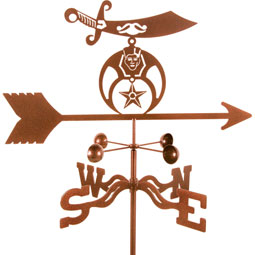 VSSHRI Military Weathervanes
