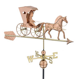 GD548PA Copper Weathervanes