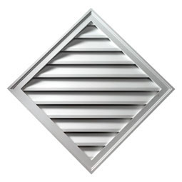 DLV24X24 Fypon Diamond Gable Vents