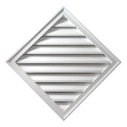 FDLV24X24 Fypon Diamond Gable Vents