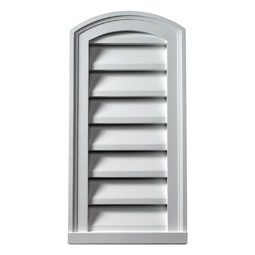 Fypon eyebrow gable vents fypon vents for Fypon gable vents
