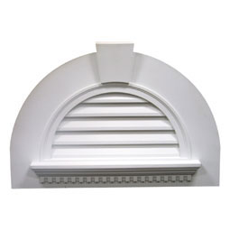 FHRLV29-6FKWD Fypon Half Round Gable Vents