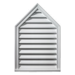 FPLV18X24-8 Fypon Peaked Gable Vents