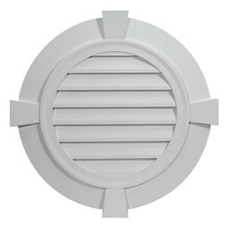 FRLV24-4FTK Fypon Round Gable Vents