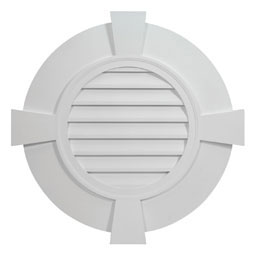FRLV30-6TK Fypon Round Gable Vents