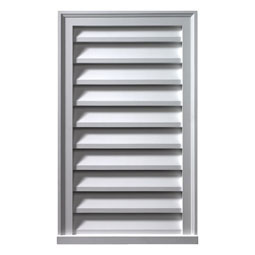 LV24X48 Fypon Vertical Gable Vents