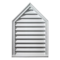 PLV18X36-10 Fypon Peaked Gable Vents