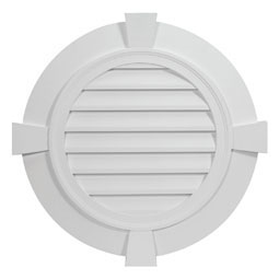 RLV24-4FTK Fypon Round Gable Vents