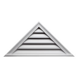 TRLV60X25 Triangle Gable Vents