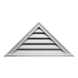TRLV60X30 Fypon Triangle Gable Vents
