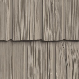 10-Inch Staggered Shake Siding