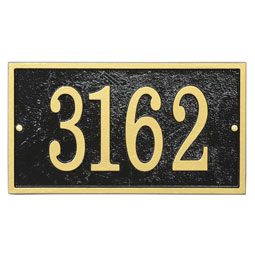 WHFER1 Address Plaques