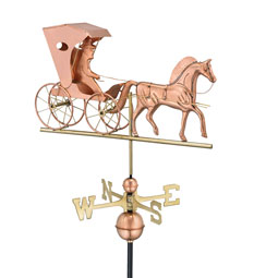 GD548P Copper Weathervanes