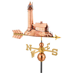GD624P Copper Weathervanes