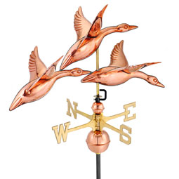 GD657P Copper Weathervanes