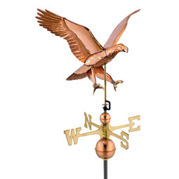 GD659P Copper Weathervanes