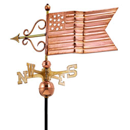 GD667P Copper Weathervanes